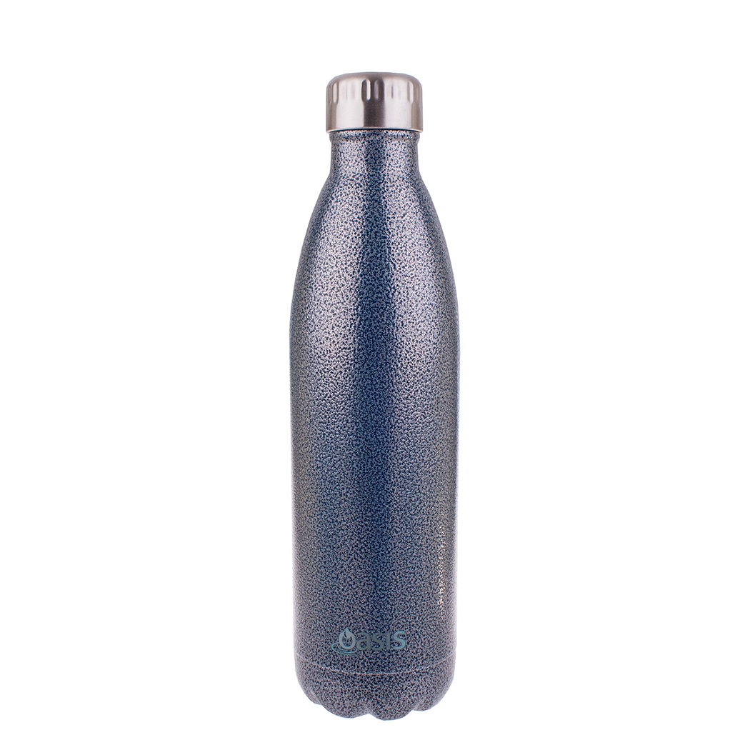 D.LINE Oasis Stainless Steel Double Wall Insulated Drink Bottle 500ml Galaxy!