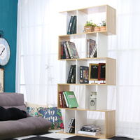 5 Tier Display Shelf Bookshelf Unit
