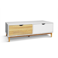 Cassina 2 Drawers Tea Coffee Table White