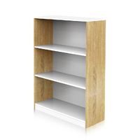 Hekman 3 Tier Bookshelf Oak