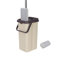 Boomjoy F11 Self Rinse Wash Squeeze Dry Mop Bucket Set