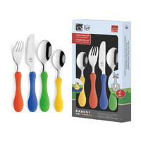 BABENY Kids 4pcs Cutlery Set