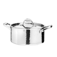 Stern 22cm Casserole Pot Tri-ply body w/ Stainless Steel Lid