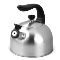 Boxberg 2L Whisting Stovetop Kettle Stainless Steel