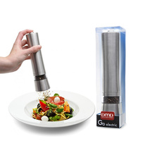 D.LINE Salt Pepper Mill Stainless Steel