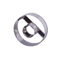 Appetito Stainless Steel Doughnut Cutter 7.5cm