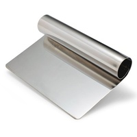 Appetito Stainless Steel Dough Scraper