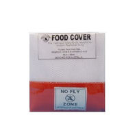 Appetito No Fly Zone Table-Throw Food Cover Red