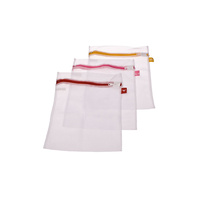 Dline Set of 3 33 x 25cm Washing Bag with Label Tags