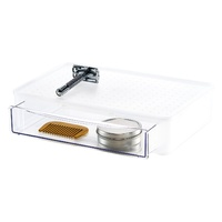 Madesmart Stackable Drawer Tray Bathroom Cosmetic Organiser