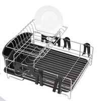 Stainless Steel 2 Tier Dish Rack