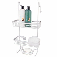 D.line Aluminium Over The Door Shower Caddy 28 x 16 x 58cm