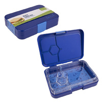 Sachi 4 Compartment Bento Lunch Box Outer Space