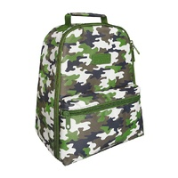 Sachi Insulated Backpack Camo Green
