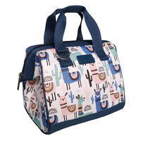 Sachi Insulated Lunch Bag Llamas