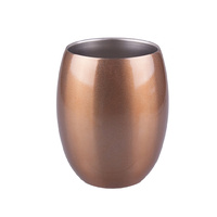 Oasis 350ml Double Wall Insulated Tumbler 350ml Champagne Gold