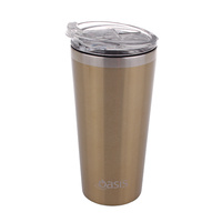 OASIS 480ml Double wall insulated stainless steel mug