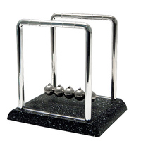 Small Newton's Cradle with Marble Base