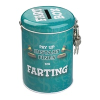 Farting Instant Fines Money Tin