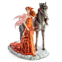 Echoes of Autumn Fairy Figurine by Nene Thomas