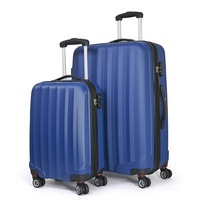 Conwwod SureLite 2pc Luggage Suitcase - Hard Case Navy